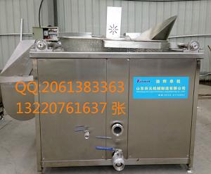 鑫正达XZD-1200自动出料油炸单锅-山东鑫正达机械制造有限公司.