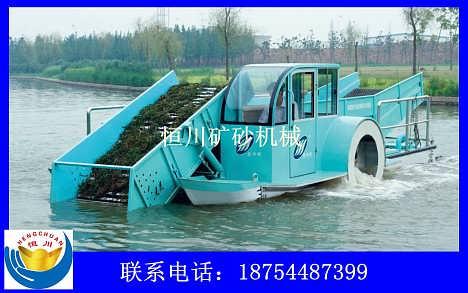 河道割草船生产厂家,小型割草船,割草保洁船