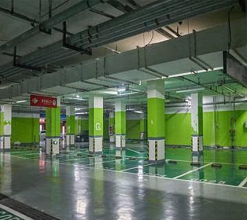 车库装修 车库装潢 地下停车场装修装潢公司找上海纳尚