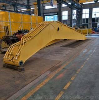 提供定制 卡特360  挖掘机加长臂深刻挖掘拆楼破碎加长臂 质量可靠