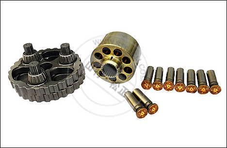 全新品质-小松PC220发动机机油泵-柴油泵-风扇叶