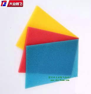 黄色细孔泡棉片