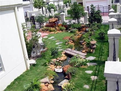 青岛庭院景观设计施工