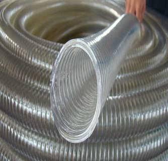大口径薄壁PVC钢丝管生产厂家_纤维编织尼龙树脂管生产厂家_衡水祥硕机械配件