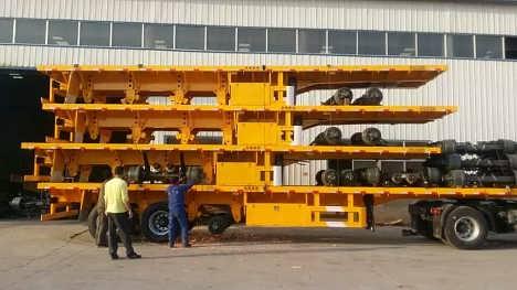 13米平板半挂车-梁山宝华专用汽车制造有限公司