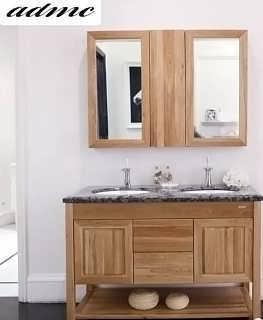 安德玛索实木浴室柜台面与台盆的清洁保养