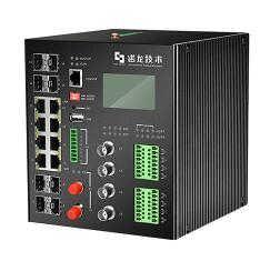 厂家8个千兆光口8个千兆网口MIS以太网交换机-深圳市诺龙技术股份有限公司