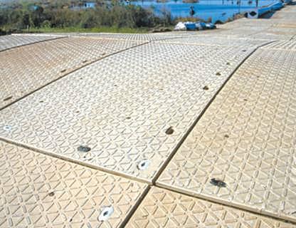 超高分子量聚乙烯UHMWPE铺路垫板 防滑耐磨 性能稳定不变形 厂家直销-张家口市科诺工程塑料有限公司-商务部