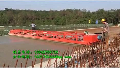 6米三轴震动梁混凝土金尊桥面摊铺机棍子整平机-济宁金尊工矿设备有限公司