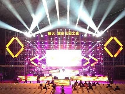 上海婚庆迎宾区布置-上海束影文化传播有限公司舞台设备租赁部