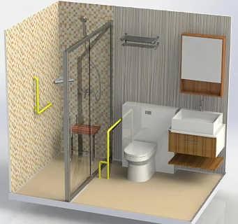 青岛整体卫浴,新型环保整体卫浴如何避免误解做到整体协调!-青岛智乐米宅科技开发有限公司
