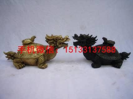 招财龙龟铜雕塑