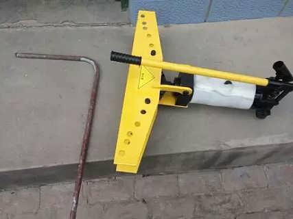 圆管手动折弯机 直角液压弯管机全新升级产品