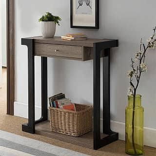 美式玄关桌 玄关台 供桌 供台 玄关柜 置物架 墙边条案 靠墙窄桌