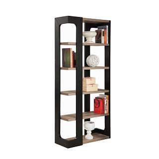 学生书柜书架 简约现代客厅多功能置物架子 书房书橱