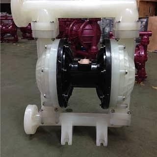 上海晶泉QBY-50气动隔膜泵工程塑料