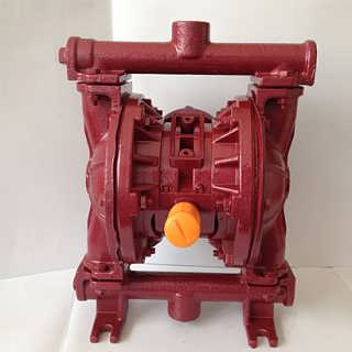 上海晶泉QBY-15气动隔膜泵铸铁