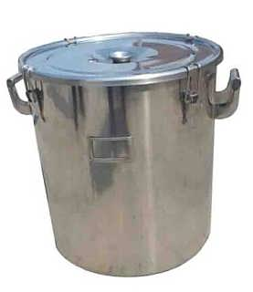 不锈钢直口密封桶