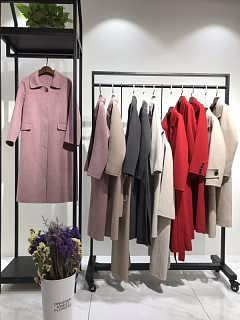 双面呢羊绒大衣品牌折扣女装尾货批发一手货源厂家直销