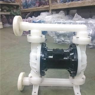 上海晶泉QBY-25气动隔膜泵工程塑料