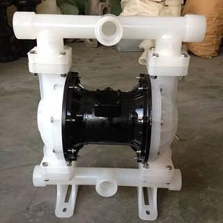 上海晶泉QBY-40气动隔膜泵工程塑料
