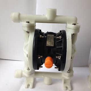上海晶泉QBY-15气动隔膜泵工程塑料