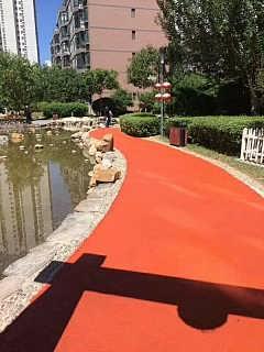 口碑好的彩色沥青康德孚美材料供应日照彩色沥青-山东康德孚美彩色沥青工程有限公司-
