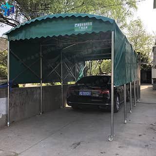 无锡江阴市活动轿车雨棚 电动轨道雨蓬 折叠移动遮阳篷厂家-苏州市鑫建华钢结构工程有限公司