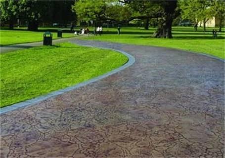 浙江水泥印砖地面 模压混凝土地面 压花地坪组成