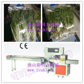 大葱韭菜生菜自动包装机,精品蔬菜包装机-佛山市禅城区新科力机械设备厂