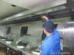 顺义区北小营清洗酒店油烟管道,食堂排烟罩清洗安装
