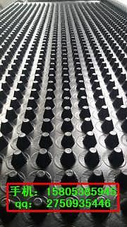 生产20厚廊坊3米宽车库蓄排水板