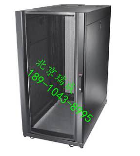 厂家直销机房网络路由器 2米 APC服务器机柜 42u 黑色-北京瑞成实创电气技术有限责任公司