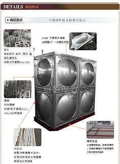 衡阳不锈钢304圆形水箱,纯净保健康-湖南宸诺环保科技有限公司销售一部
