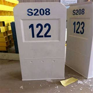 鹤峰警告提示燃气管道里程碑代理商家-河北枣强县桓瑞环保设备销售处