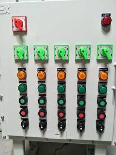 供应山东潍坊防爆控制箱BXK-T立式碳钢材质防爆箱配电箱