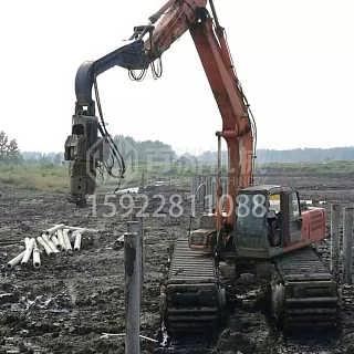 KOBELCO挖掘机水上打桩机-重庆市百洲工程机械销售有限公司