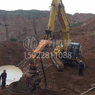 现代挖掘机海上打桩机-重庆市百洲工程机械销售有限公司