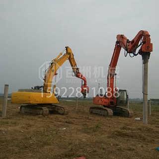KOBELCO挖掘机履带式打桩机-重庆市百洲工程机械销售有限公司