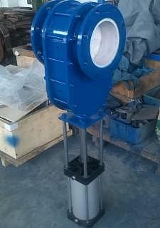 一核气动陶瓷双闸板阀供应-永嘉一核陶瓷阀门有限公司