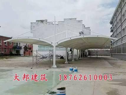 膜结构车棚供应商-山东大邦建筑安装工程有限公司