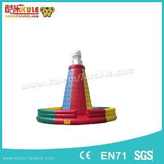 酷乐充气运动休闲玩具充气攀岩-广州酷乐游乐设备有限责任公司