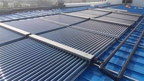 苏州电子园员工宿舍太阳能空气能热水工程-江苏卓奥节能设备安装工程有限公司
