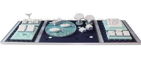 美人鱼珠宝道具展示-深圳市劲然首饰包装有限公司
