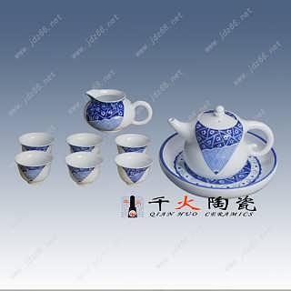 景德镇手绘青花瓷茶具套装生产厂家-江西景德镇市唐龙陶瓷有限公司批发部