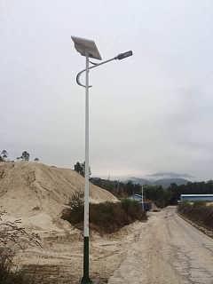 石家庄太阳能路灯厂家 适合新农村安装的路灯-石家庄华朗电子科技有限公司