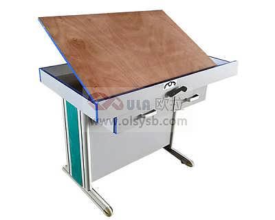 多功能绘图桌_学校专业实用绘图桌椅_制图桌椅厂家 OGTS-01塑钢木型