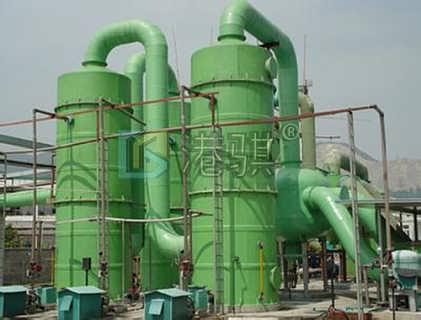玻璃钢酸雾净化塔规格型号-港骐-河北港骐玻璃钢有限公司销售十一部