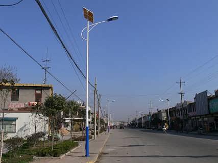 晋城太阳能路灯6米供应厂家走量1270-石家庄华朗电子科技有限公司