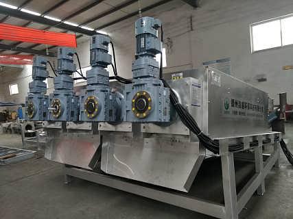 叠螺式污泥脱水机 叠螺污泥脱水机 叠螺机专业制造商-德州洁盛环保科技有限公司